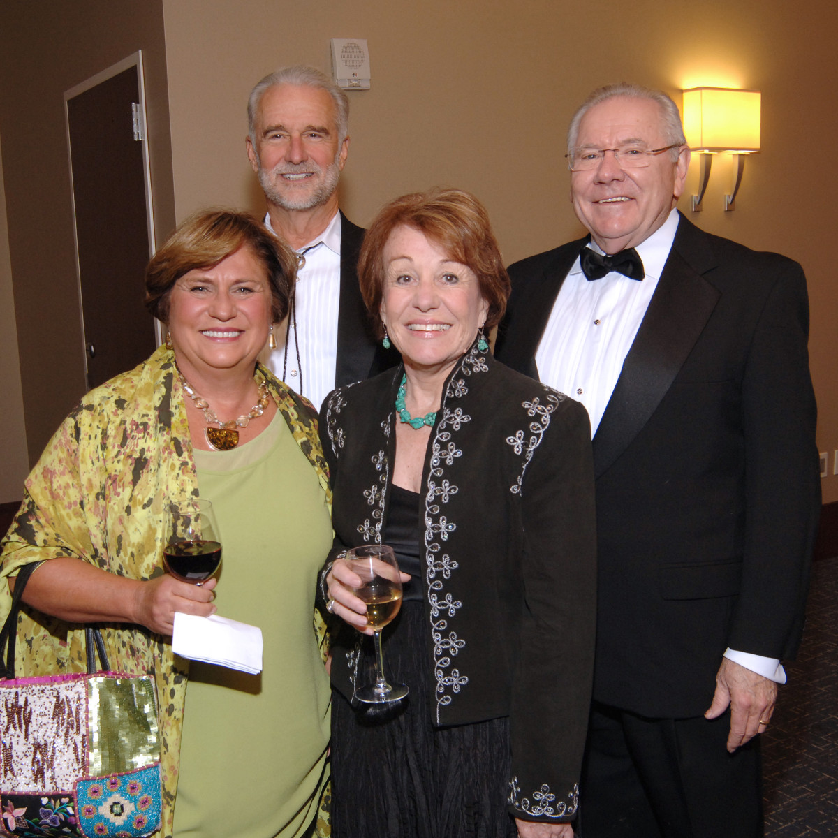 UH Law gala, April 2016, Joanne Miller, Judge Gray Miller, Mary Schneider, Judge Michael Schneider