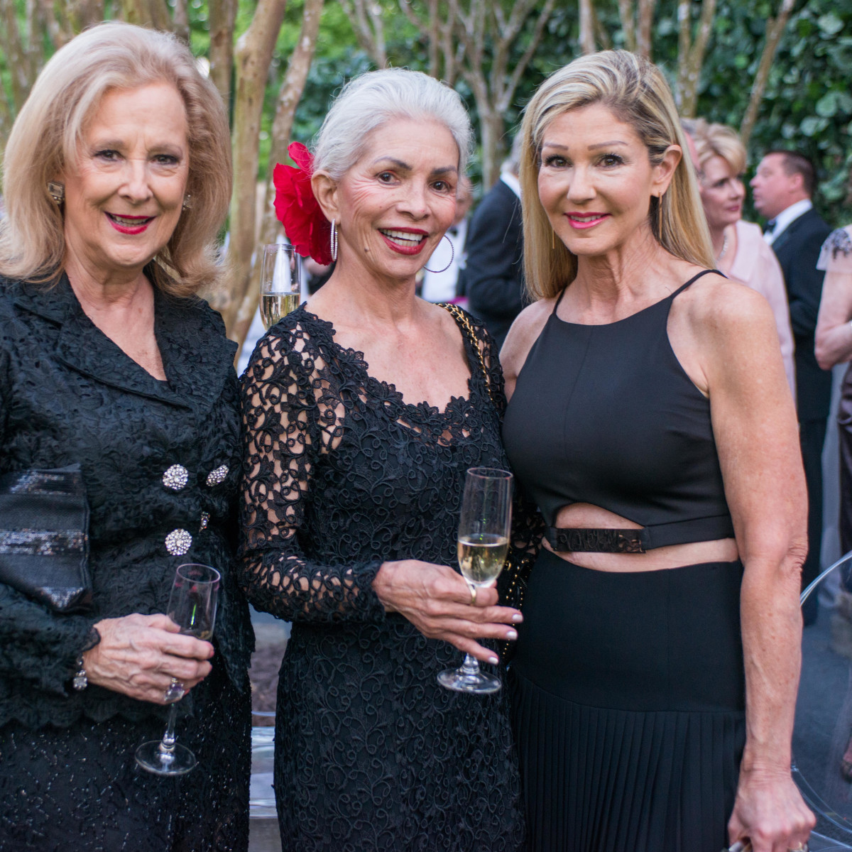 Van Cleef & Arpels party, April 2016, Mary Ann McKeithan, Henri Hall, Patti Murphy
