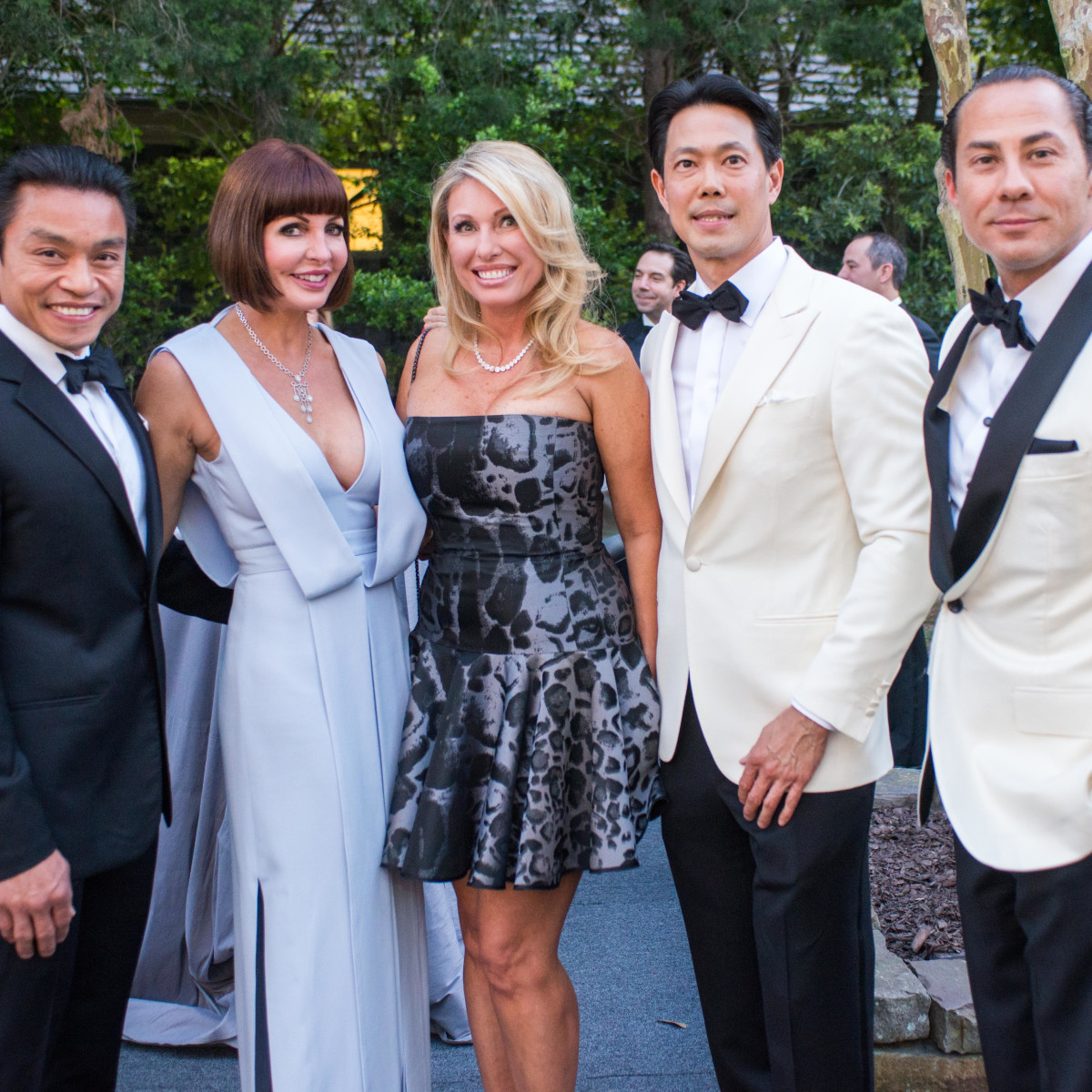Van CleeF & Arpels party, April 2016, Quang Henderson, Staci Henderson, Tifany Wong, Randall Wong, Cenk Ozdogan