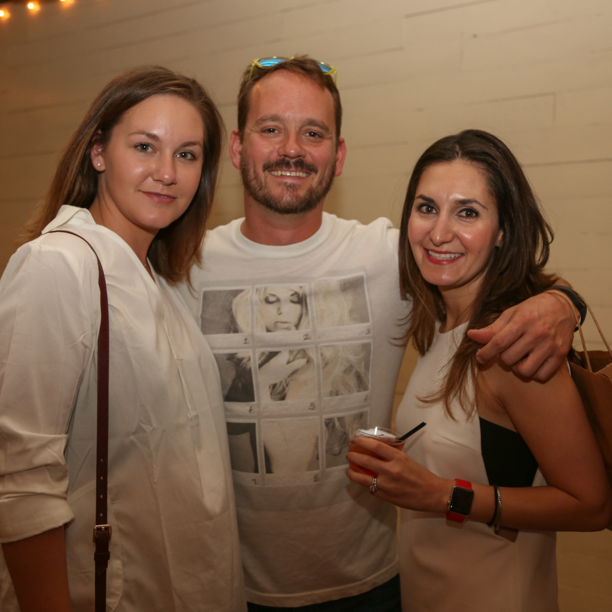 CultureMap Social: The Art Edition at Palm Door Maddison Hughes Kyle Combs Nancy Rodill