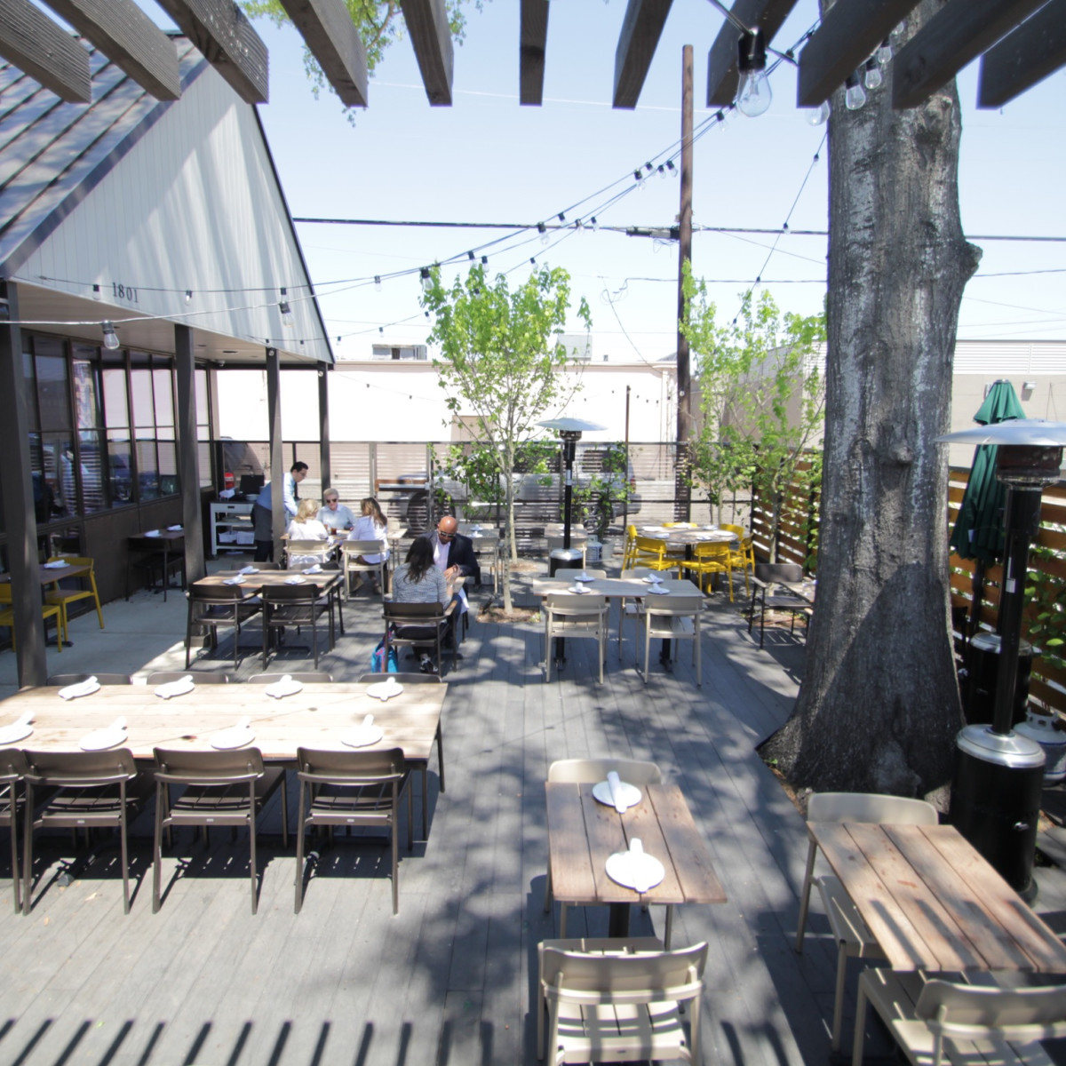 Bernadine's patio