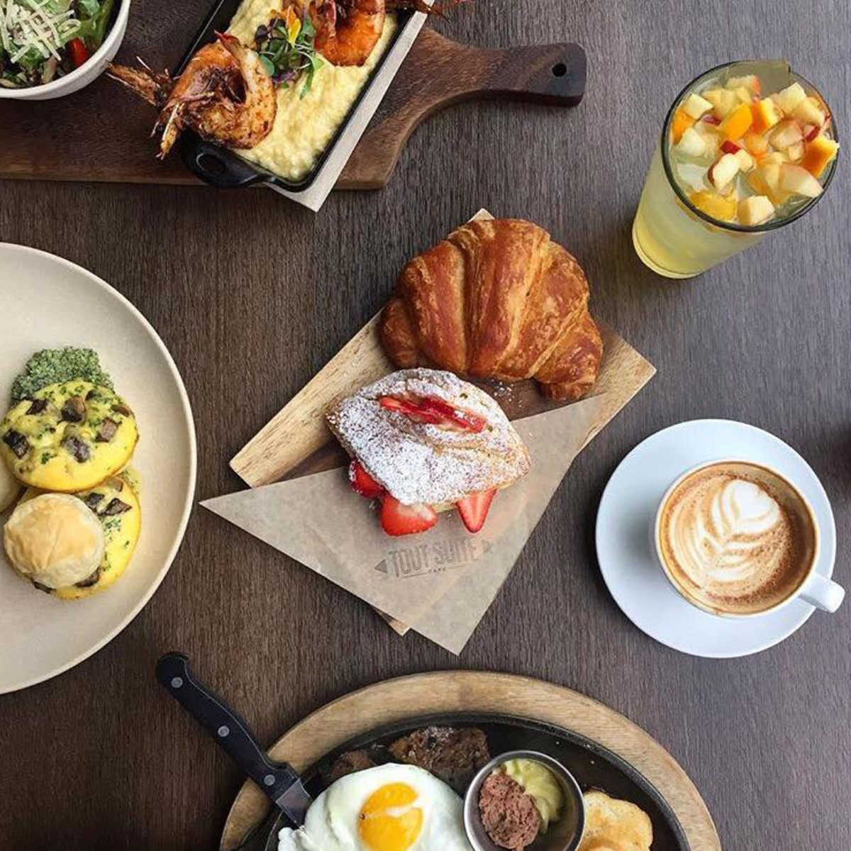 Houston, Tout Suite, April 2016, brunch fare