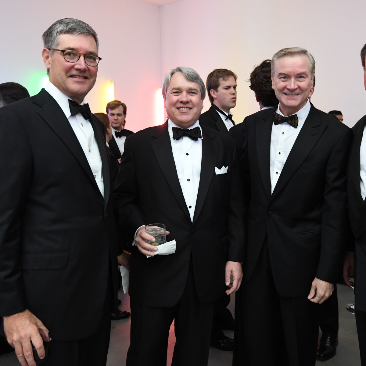 Men of Menil 2016 Bill Curtis, Reggie Smith, David Pustka, and Jim Higgason