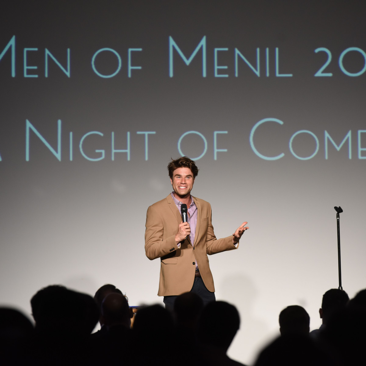 Men of Menil 2016 Opening Act, Comedian Matthew Broussard