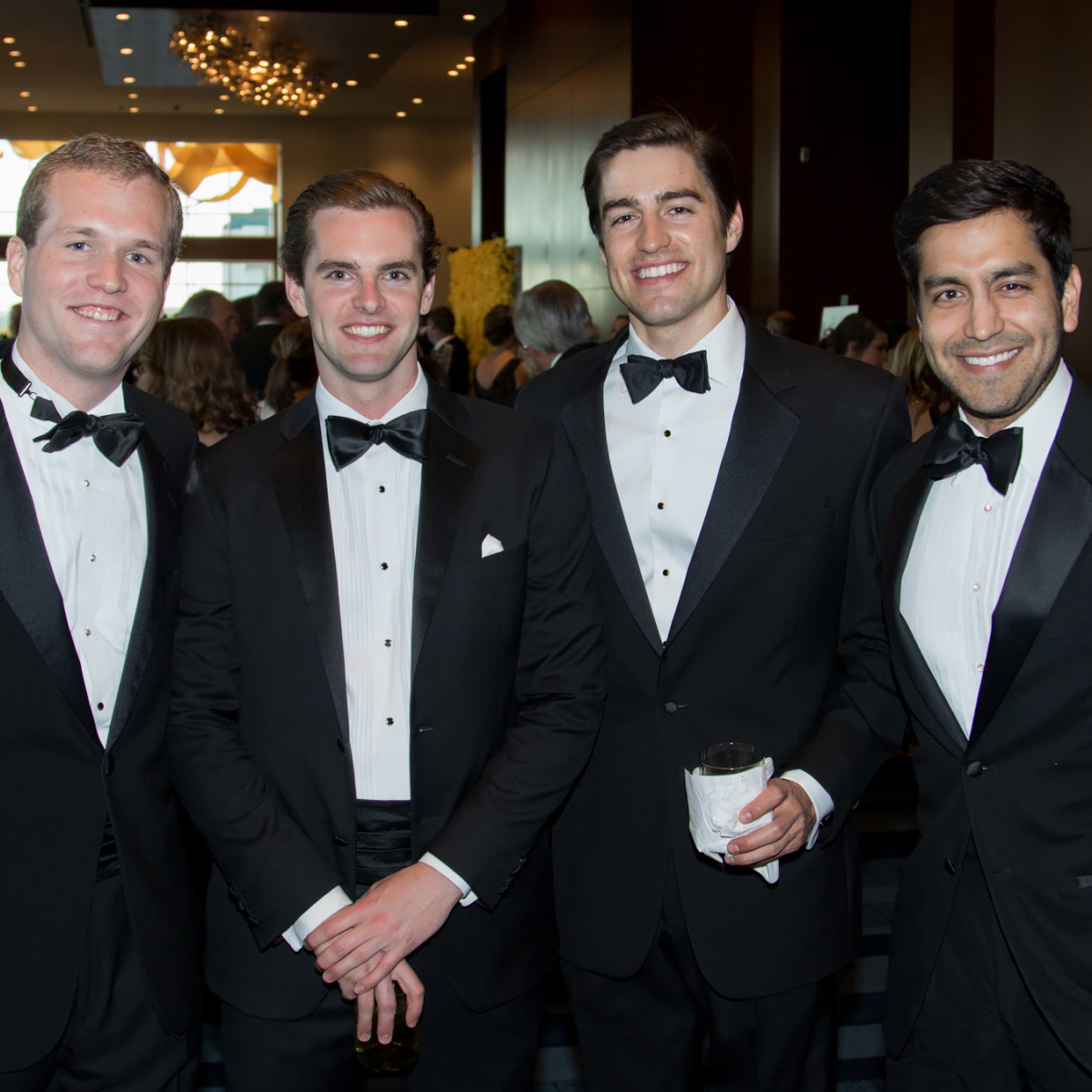 Young professionals at the Yellow Rose Gala 2016