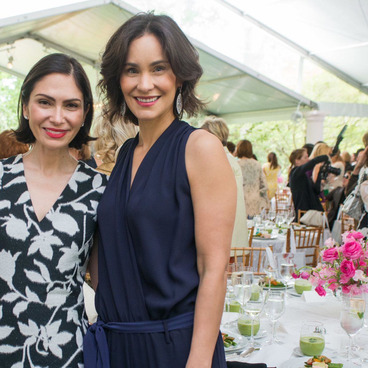 Bayou Bend luncheon, April 2016, Jennifer Segal, Laura Arnold