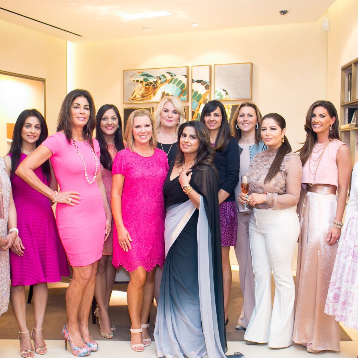 International Mothers' Day at Bulgari, honorees