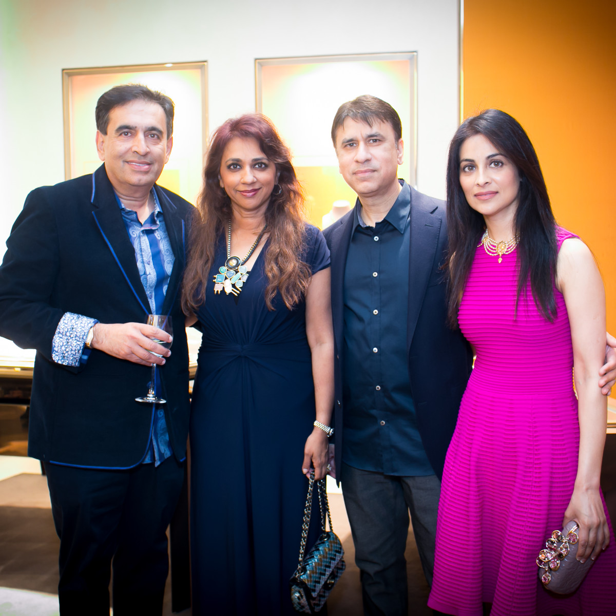 International Mothers' Day at Bulgari, Ricki Oberoi, Asra Oberon, Pradeep Rihal, Simran Rihal