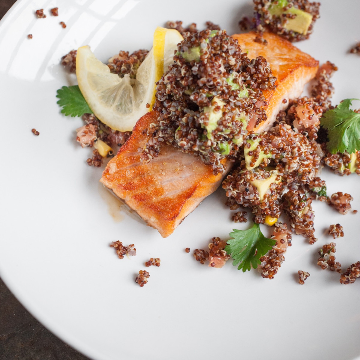 Dish Society Citrus glazed salmon