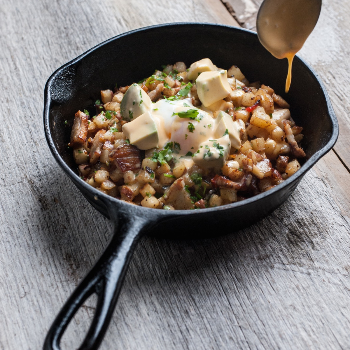 Dish Society Pork Belly Hash