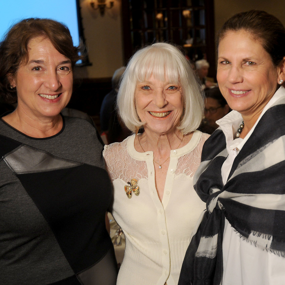 Hospice Butterfly Luncheon, March 2016, Jes Hagle, Cynthia Nordt, Nancy Ruez