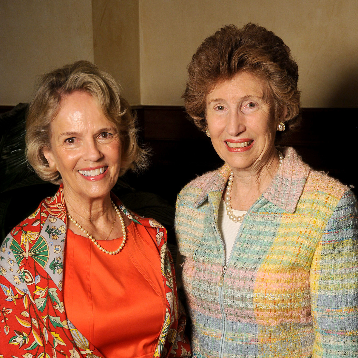 Hospice Butterfly Luncheon, March 2016, Sue White, June Stobaugh