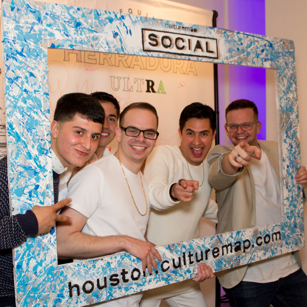 CultureMap Social, March 2016, Smilebooth action