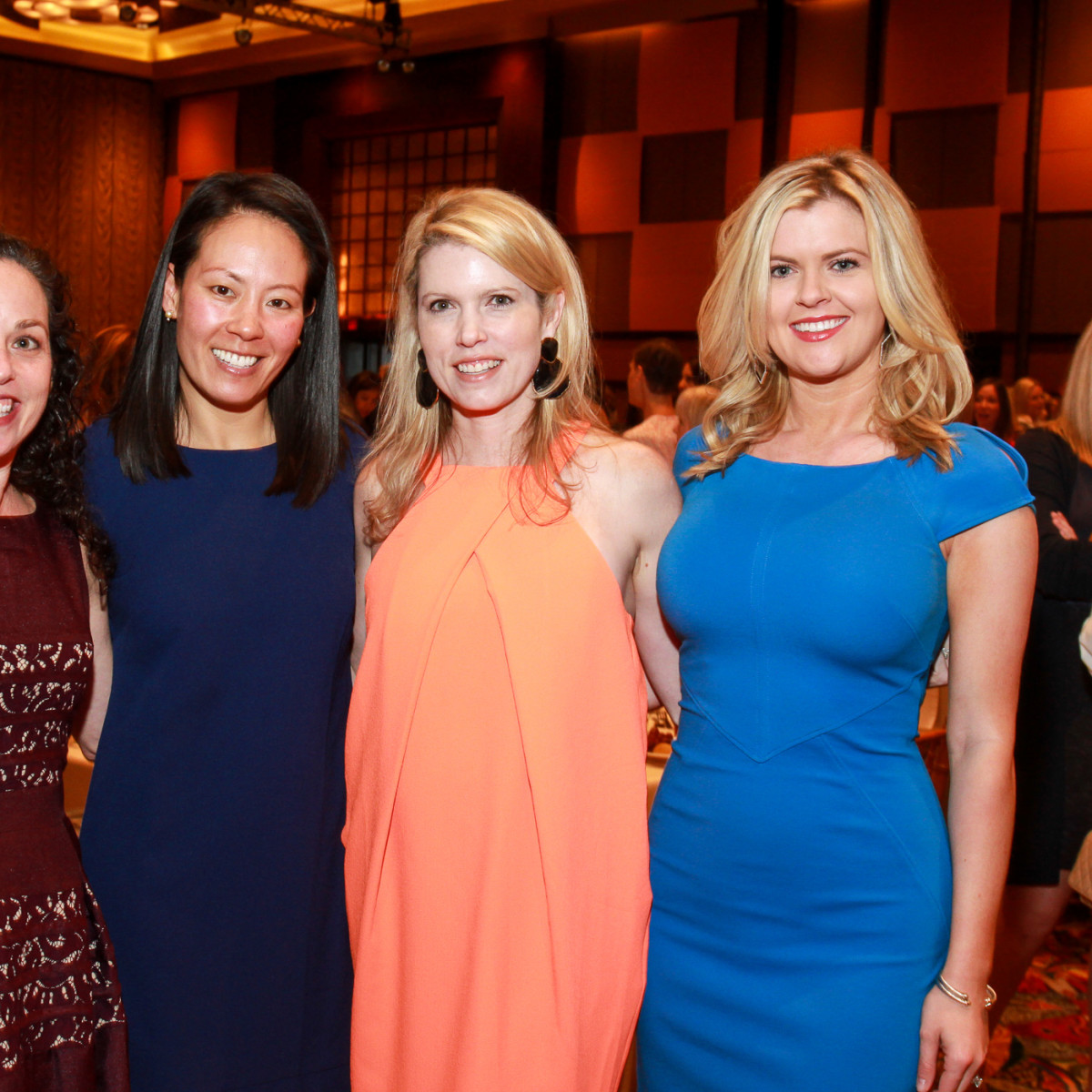 Best Dressed Luncheon, March 2016, Viviana Denechaud, Ting Bresnehan, Courtney Toomey, Ashlee Love
