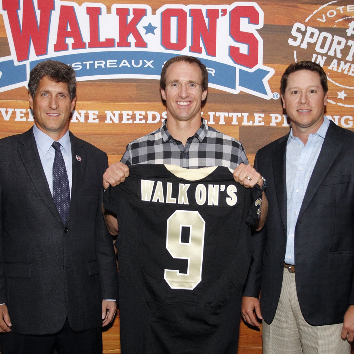 Walk Ons Drew Brees