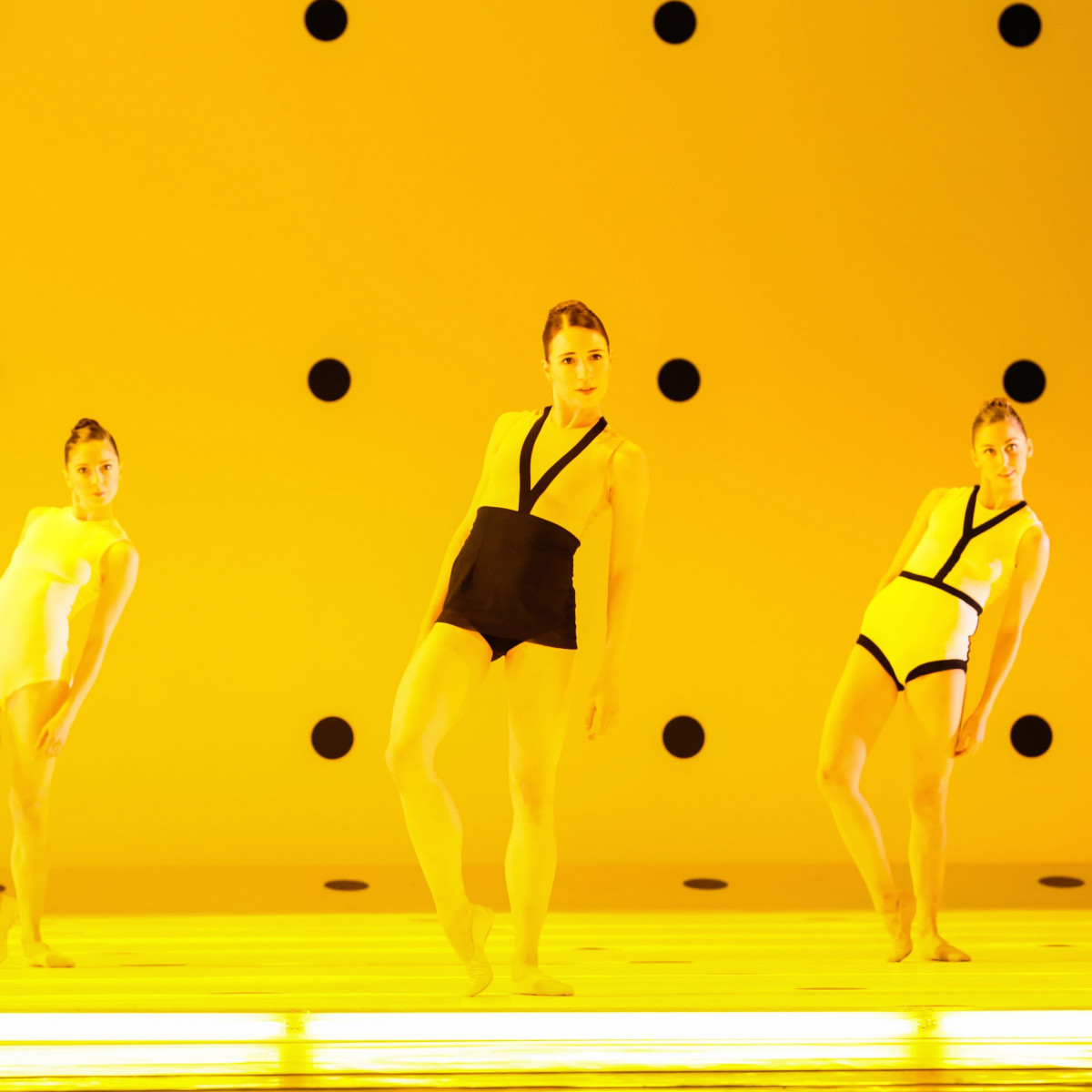 Dyad artists of the Houston Ballet, choreographer Wayne McGregor