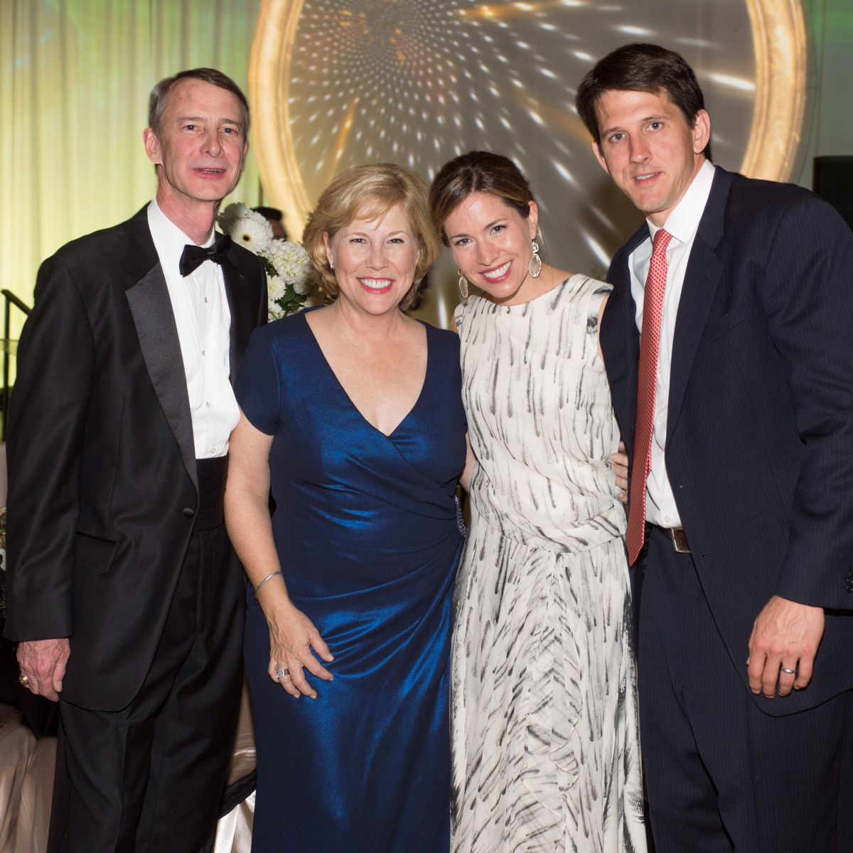 Covenant House Gala, March 2016, Brett Hamilton, Anne Hamilton, Dominique Sage, Hunter Sage