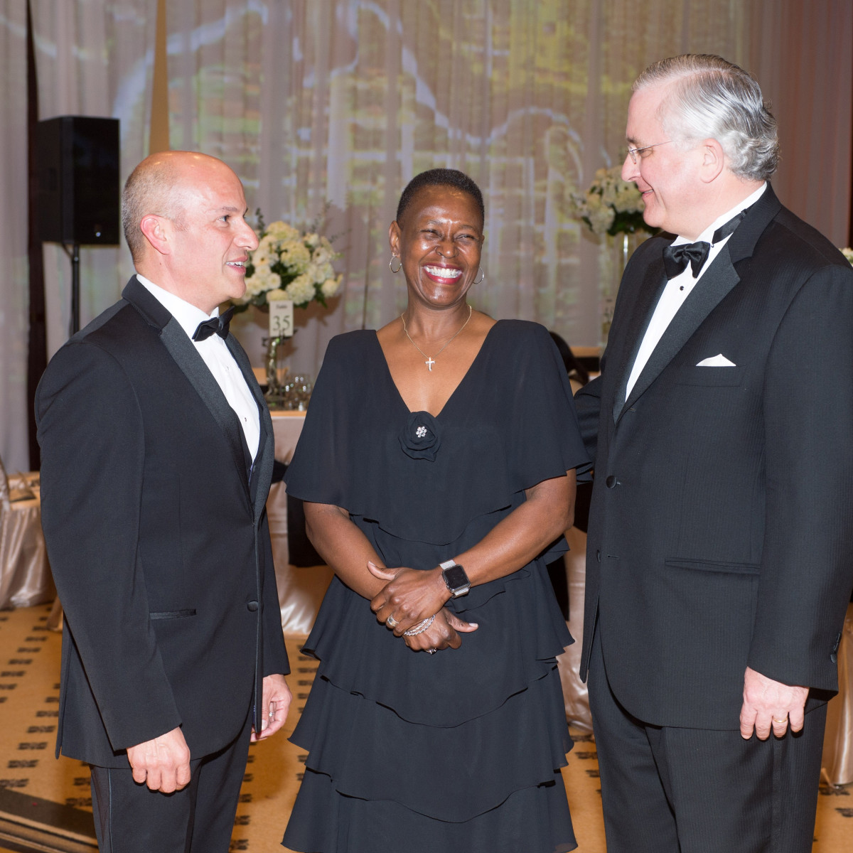 Covenant House Gala, March 2016, Greg Hernandez, Ronda Robinson, Randall Walker