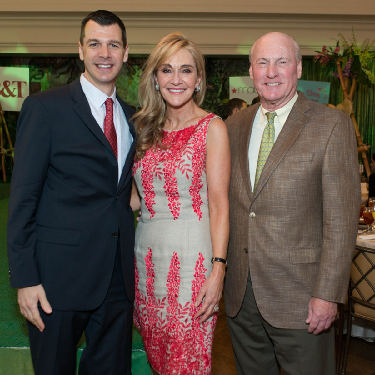 Houston Symphony Children's Fashion Show, March 2016, Mark Hanson, Jana Arnoldy, Scotty Arnoldy