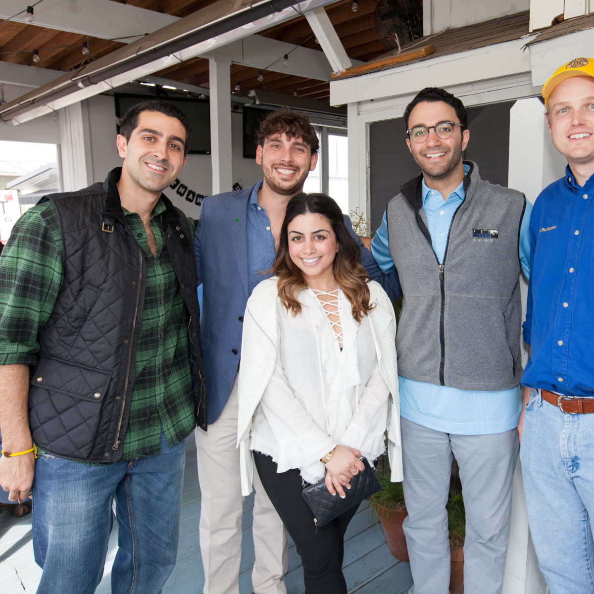 durham House brunch, March 2016, Andyshea Saberioon, Ricky Johnston, Rania Amin, Arash Roozbeh, Austin Buckalew