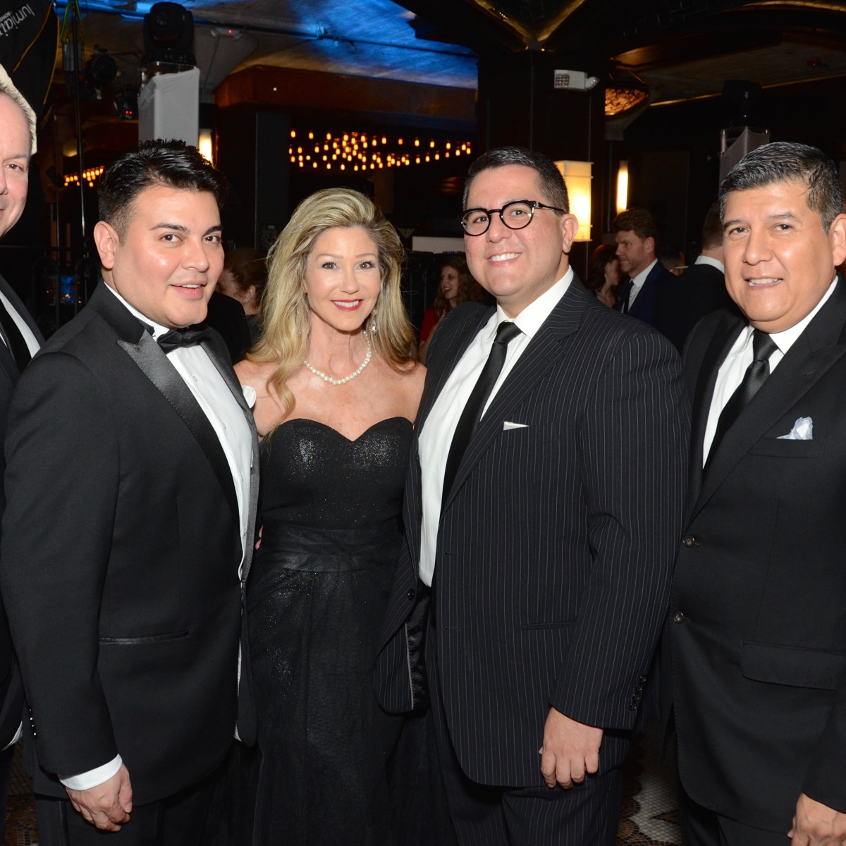 Scott Miller, Edward Sanchez, Patti Murphy, Roland Maldonado, Raul Diaz at Stages Gala