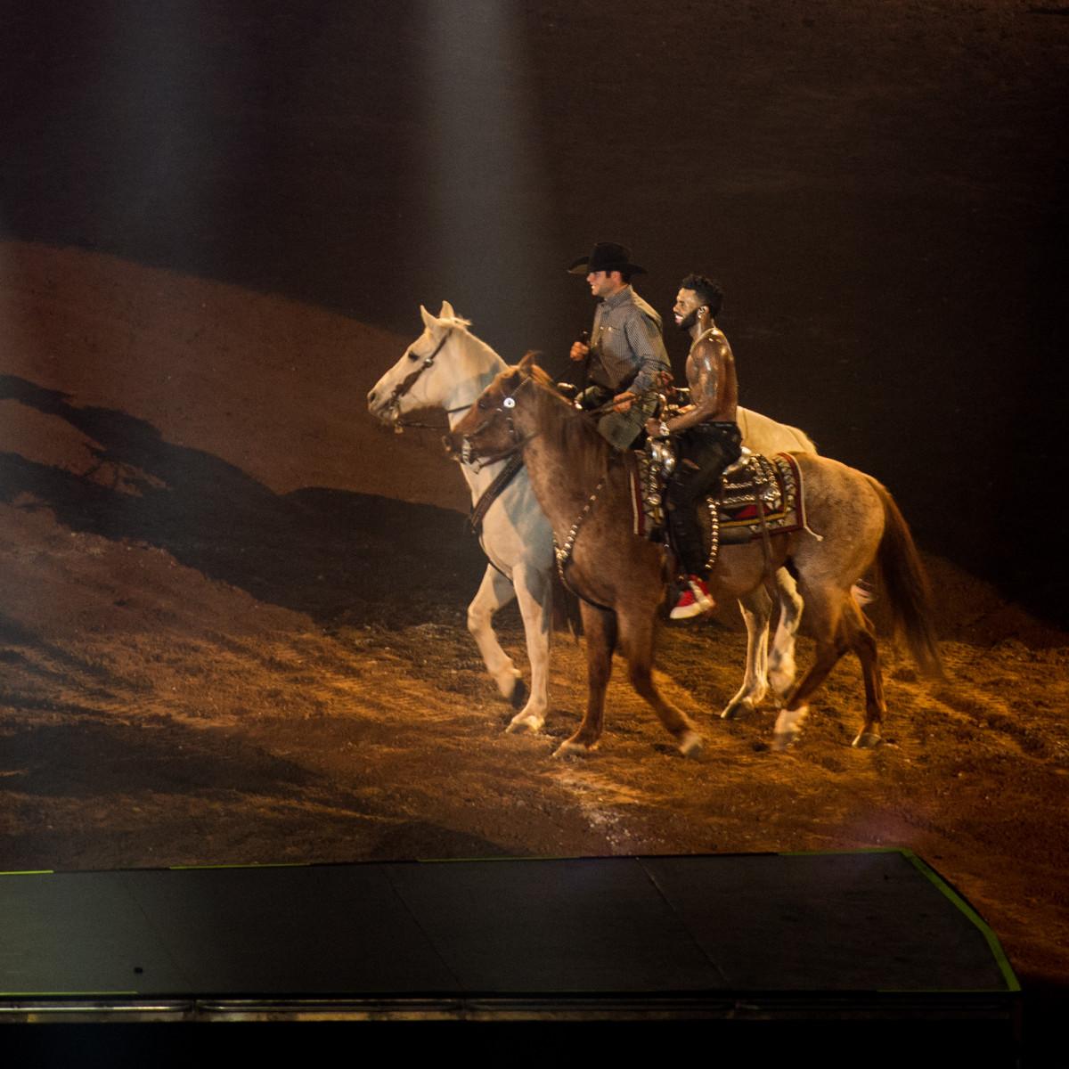 Jason Derulo at Houston Rodeo
