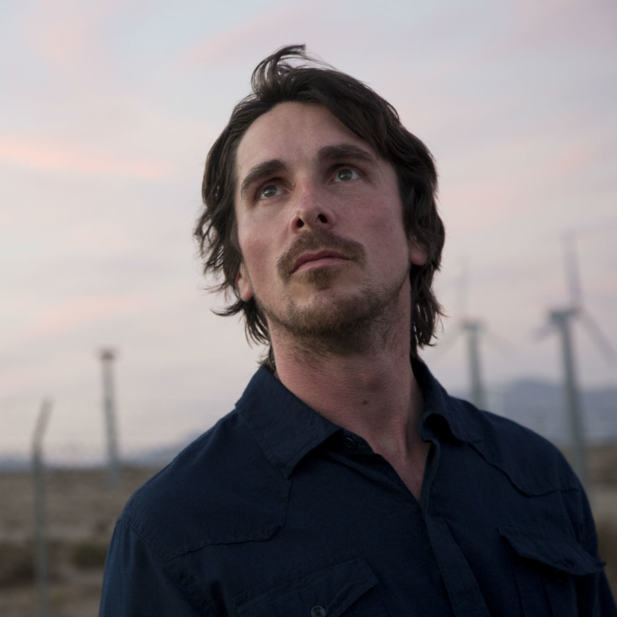 Christian Bale in Knight of Cups