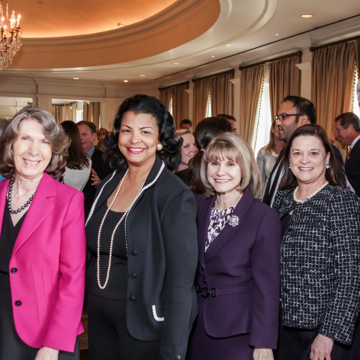 FAmily Houston, March 2016, Linda O'Black, Cynthia Briggs, Anna Babin, Martha Voss, Wendel Skolaski