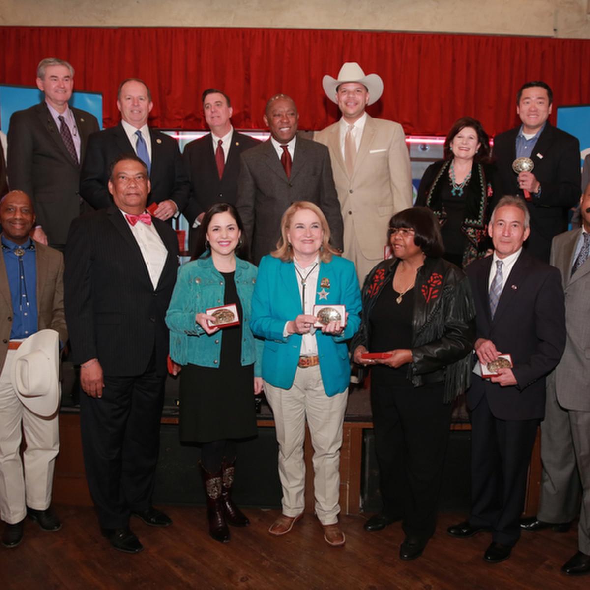 Members of Texas legislature at Mayor's Rodeo Kickoff Breakfast