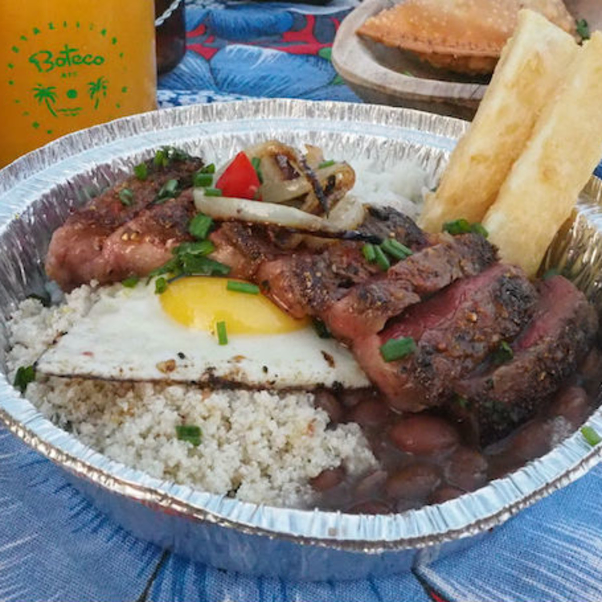 Boteco food truck Picanha Grelhada sirloin steak