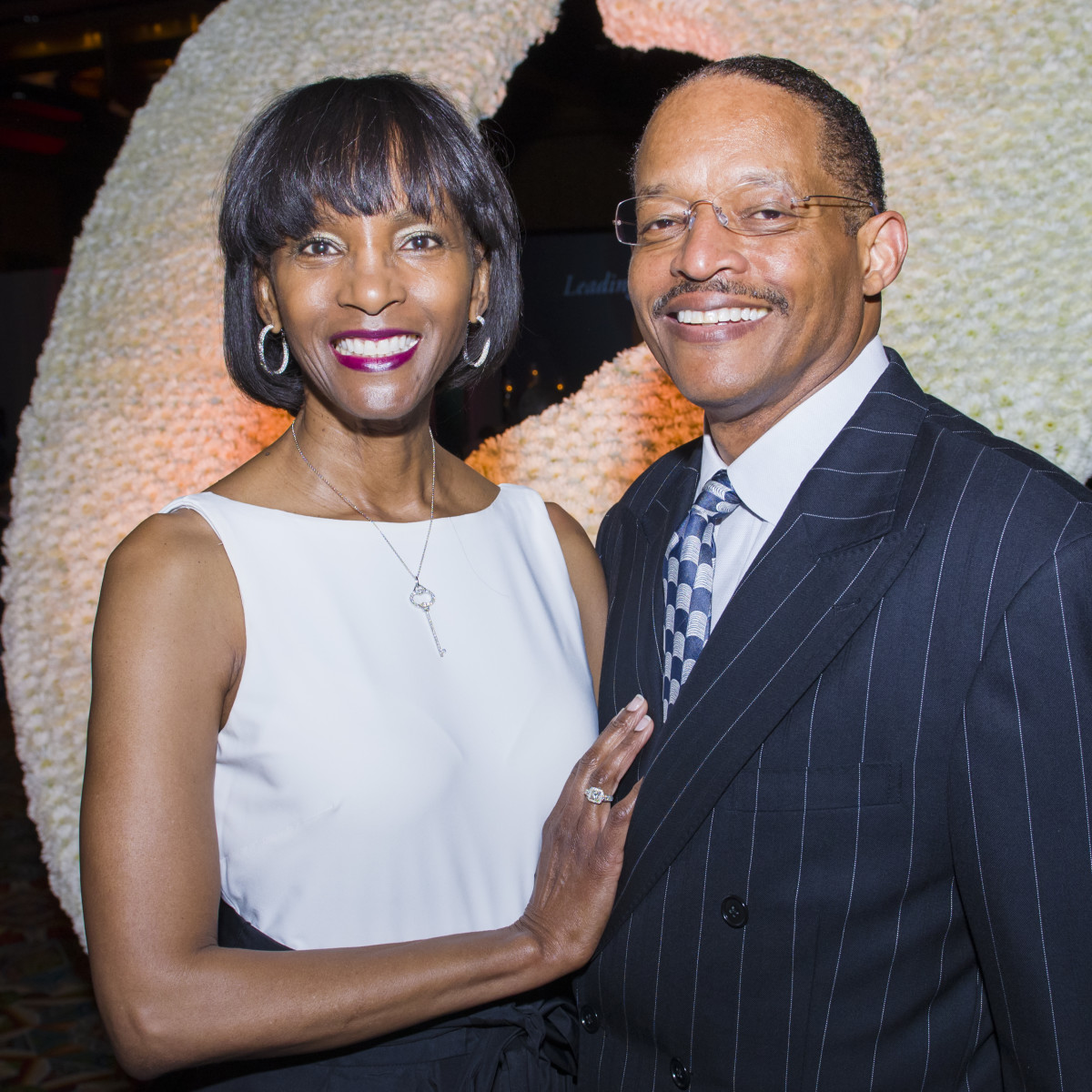 Texas Heart Institute dinner, Feb. 2016, Judy McConnell, Wayne McConnell