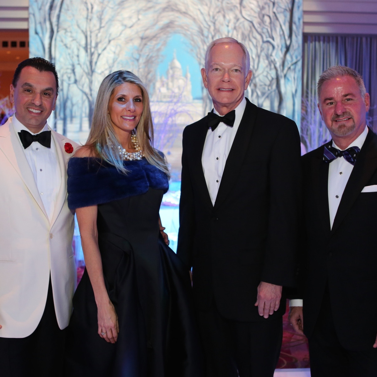 Houston Ballet Ball, Feb. 2016,  Dr. Devinder Bhatia, Gina Bhatia, Jay Jones, Terry Wayne Jones