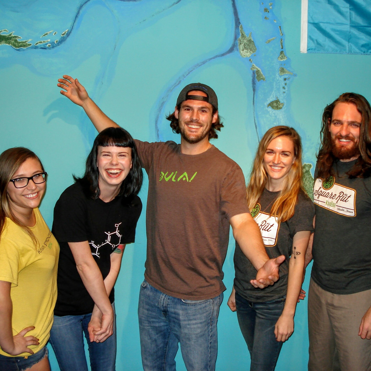 SquareRut Kava Bar team