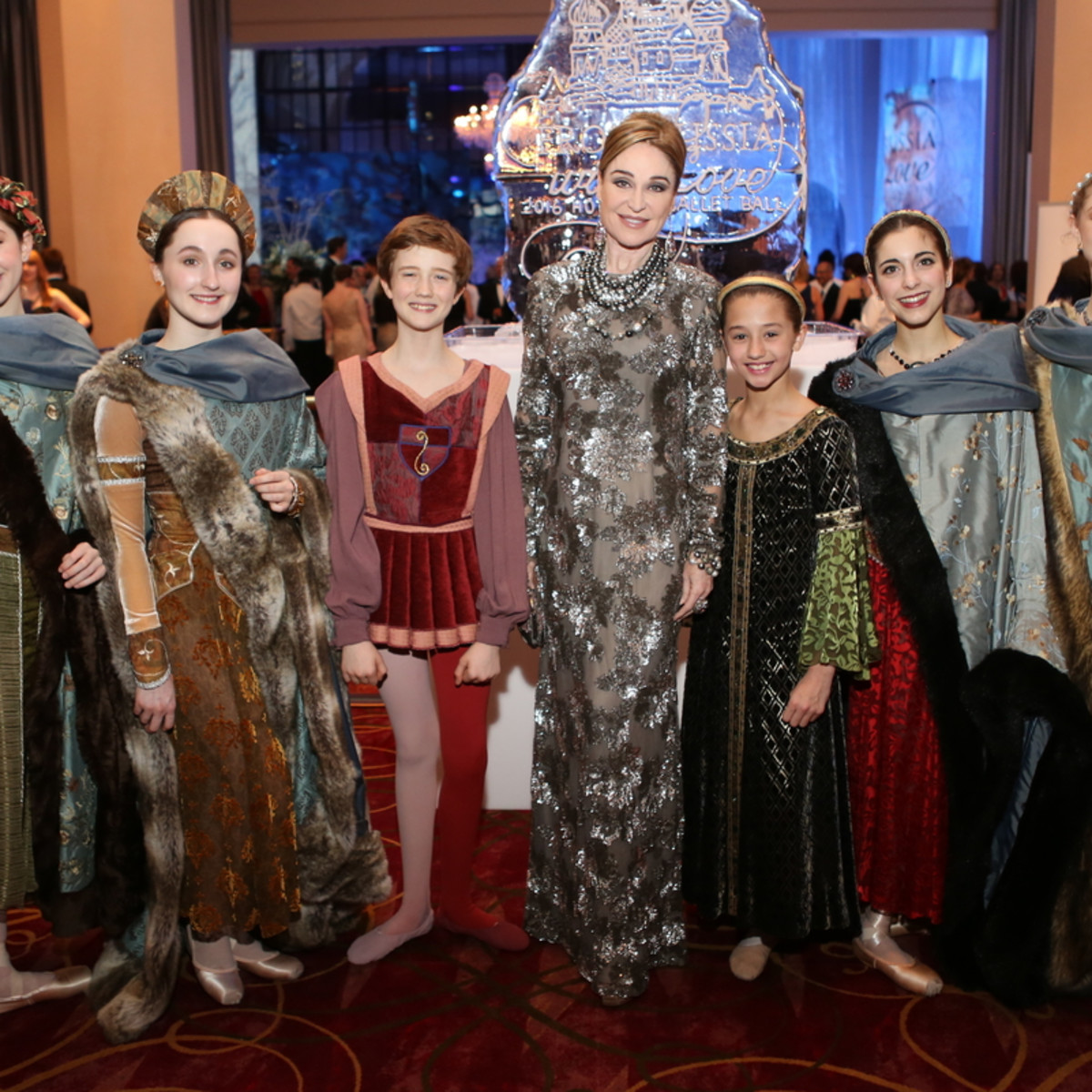 Houston Ballet Ball, Feb. 2016,  Becca Cason Thrash