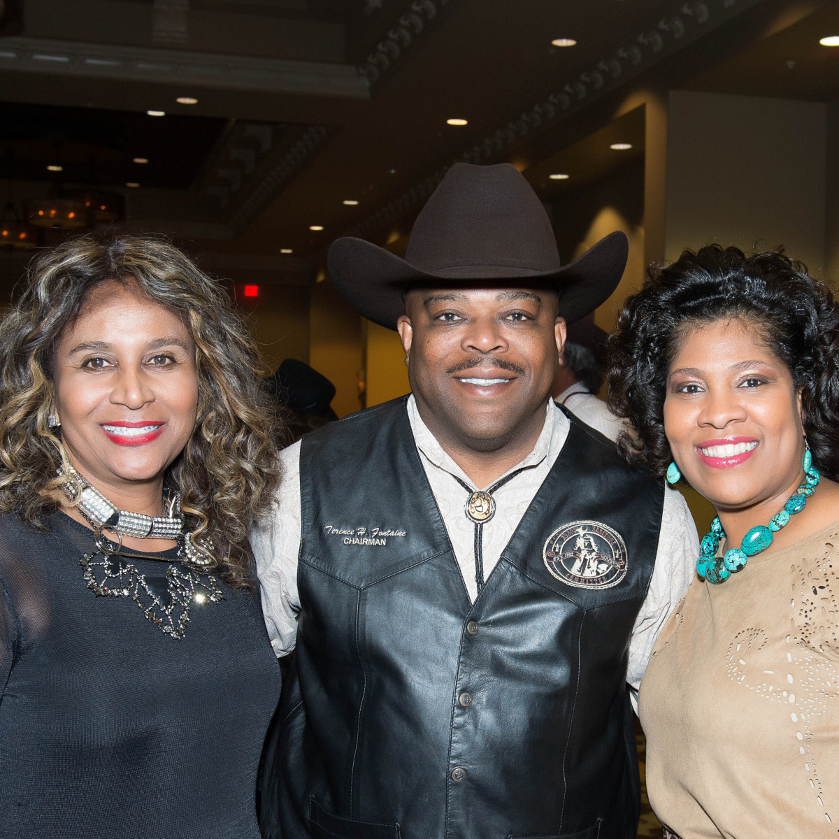 Boots and Bling Carolyn Alexander, Terrence and Diedre Fontaine