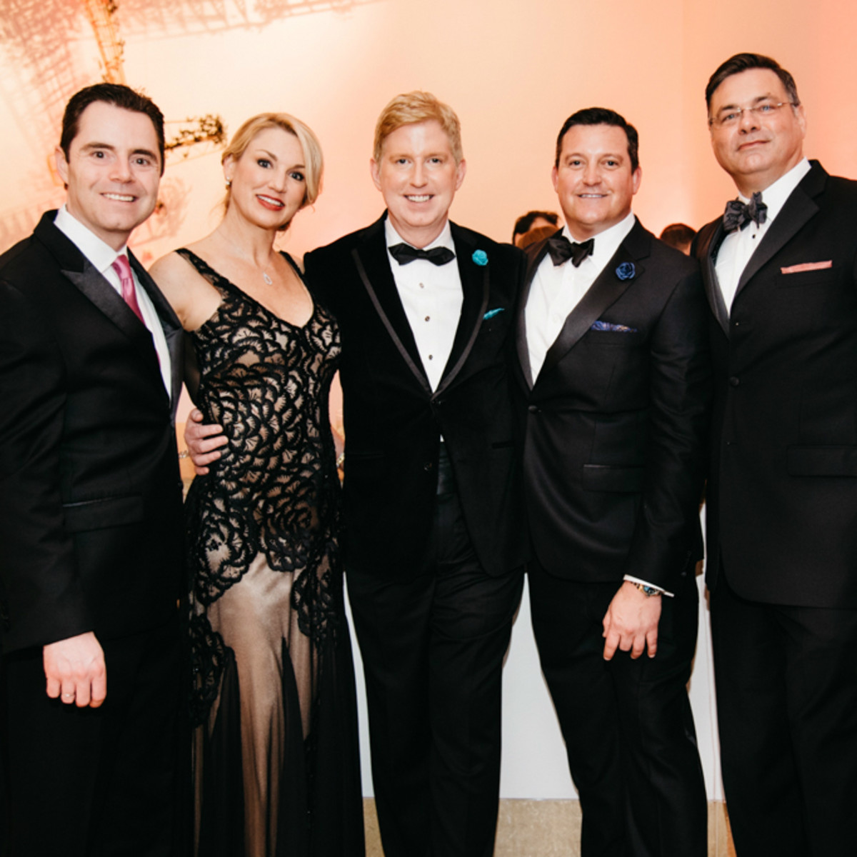 Blanton Museum Art on the Edge gala February 2016 Rob Giardinelli Tobie Funte Flannery Lance Avery Morgan Louis Suebe Dr. Alan Stevens