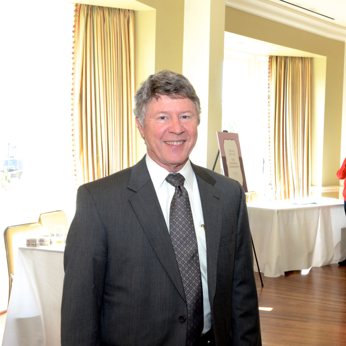 The Center luncheon, Feb. 2016, Judge Emmett