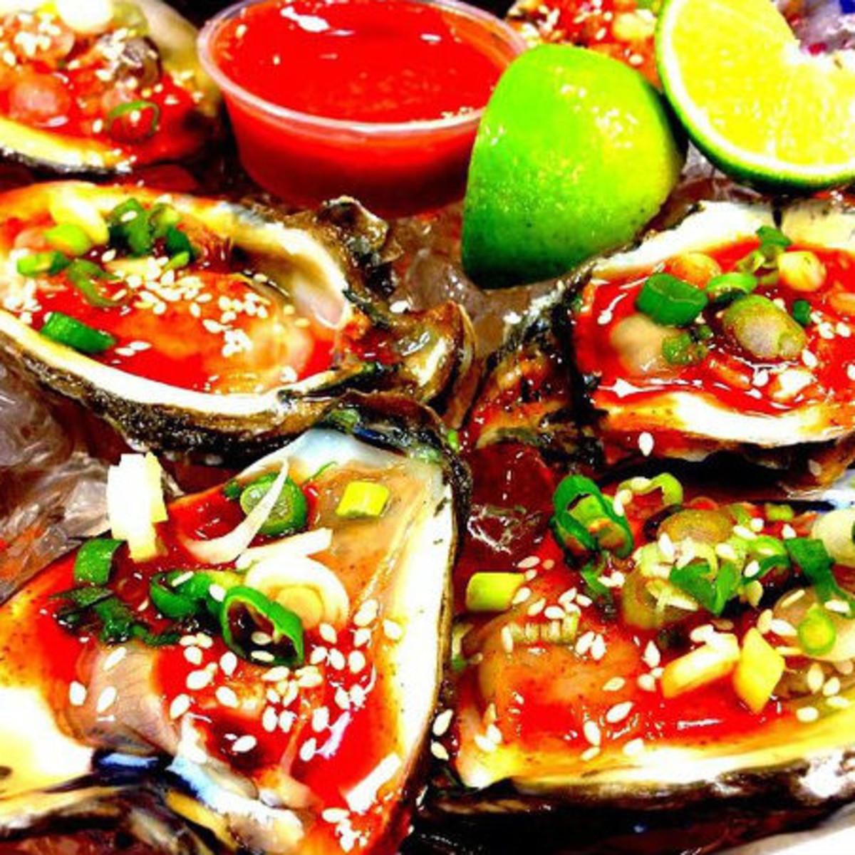 LA Crawfish San Antonio korean oysters