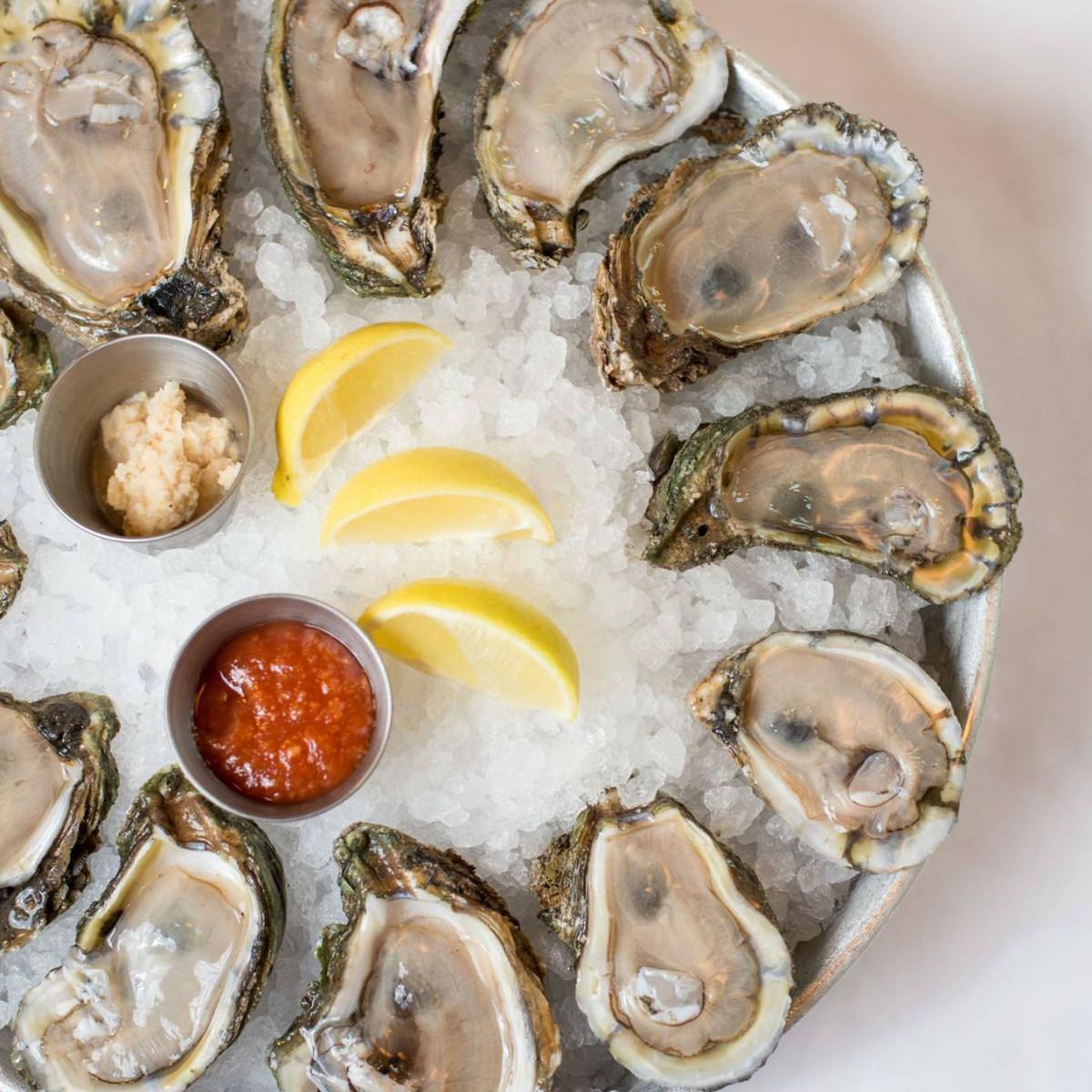 Lüke San Antonio oysters