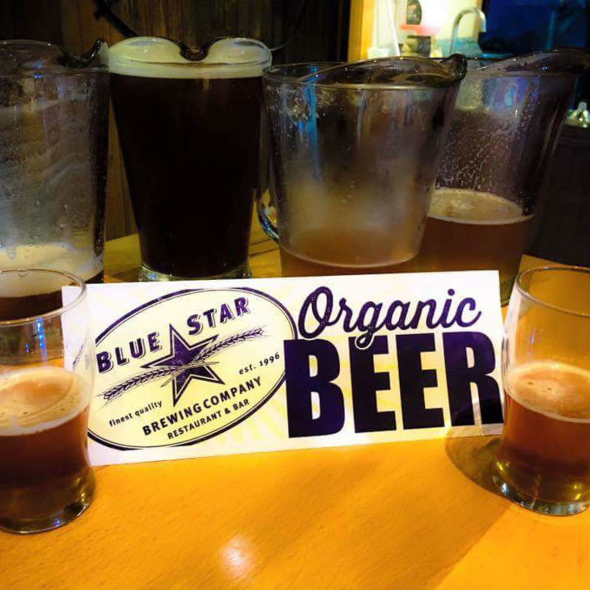 Blue Star beer