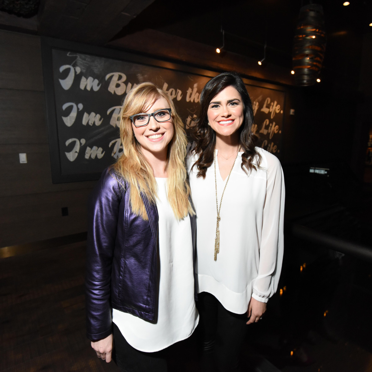 Heart of Fashion at the movies, Feb. 2016 Kalyn Oden, Allison George
