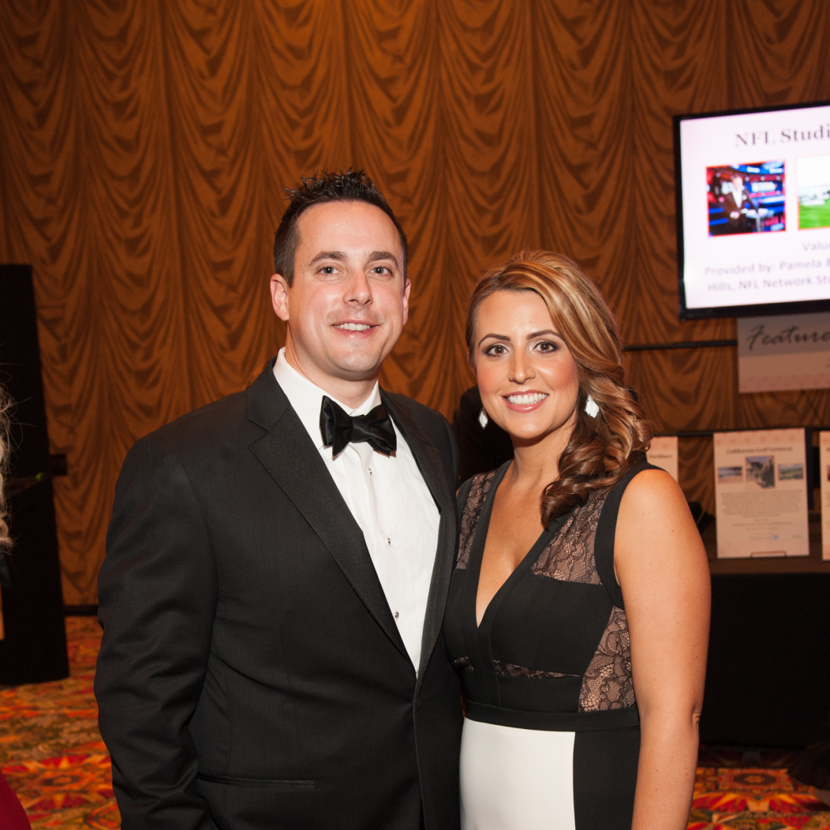 Heart Ball, Feb. 2016, Jeff Malone, Amanda Malone