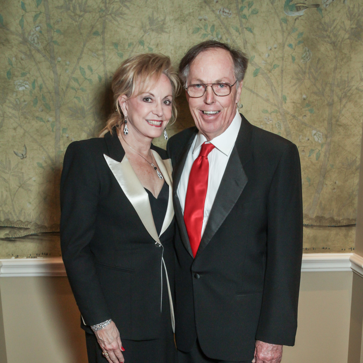 Champagne & Chocolat gala, Feb. 2016, Jane Page Crump, James Crump