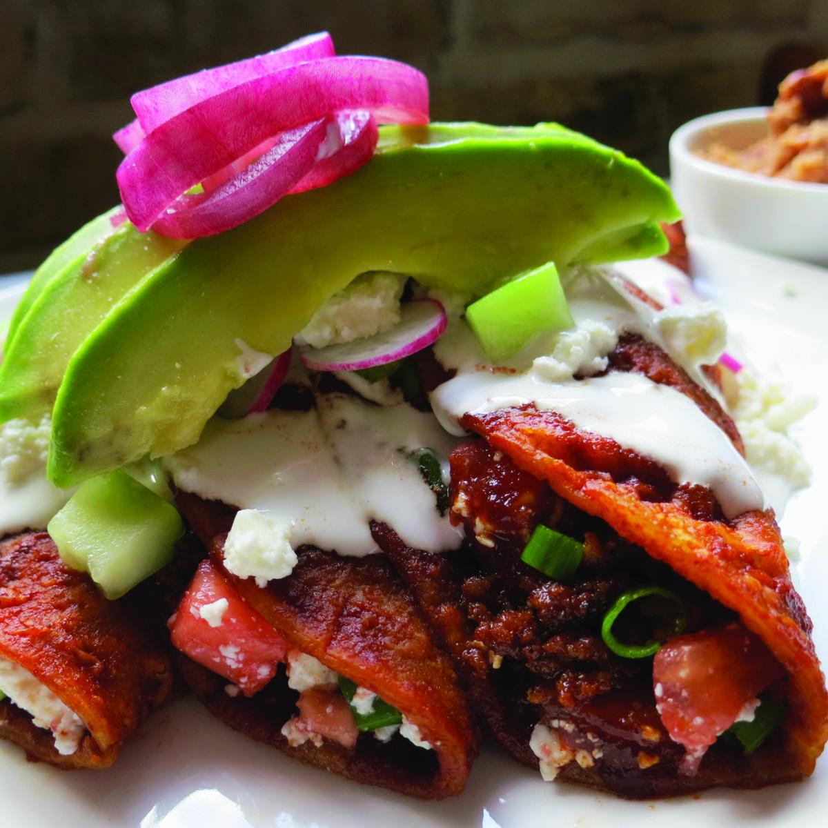 Enchiladas Aztec to Tex-Mex book Cappy Lawton Chris Waters Dunn enchiladas del suelo