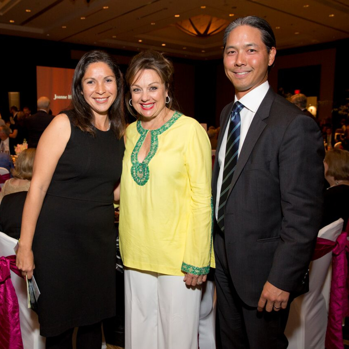 Tennis gala, Feb. 2016, Catalina Mireles, Marcelle, Ho Tommy Ho