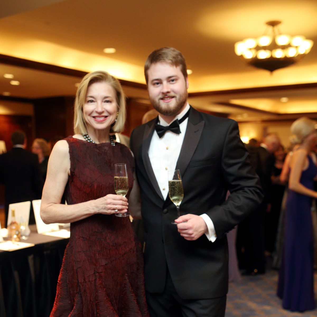 Denali Foundation gala, Feb. 2016, Meredith Cocke, Alexander Coke