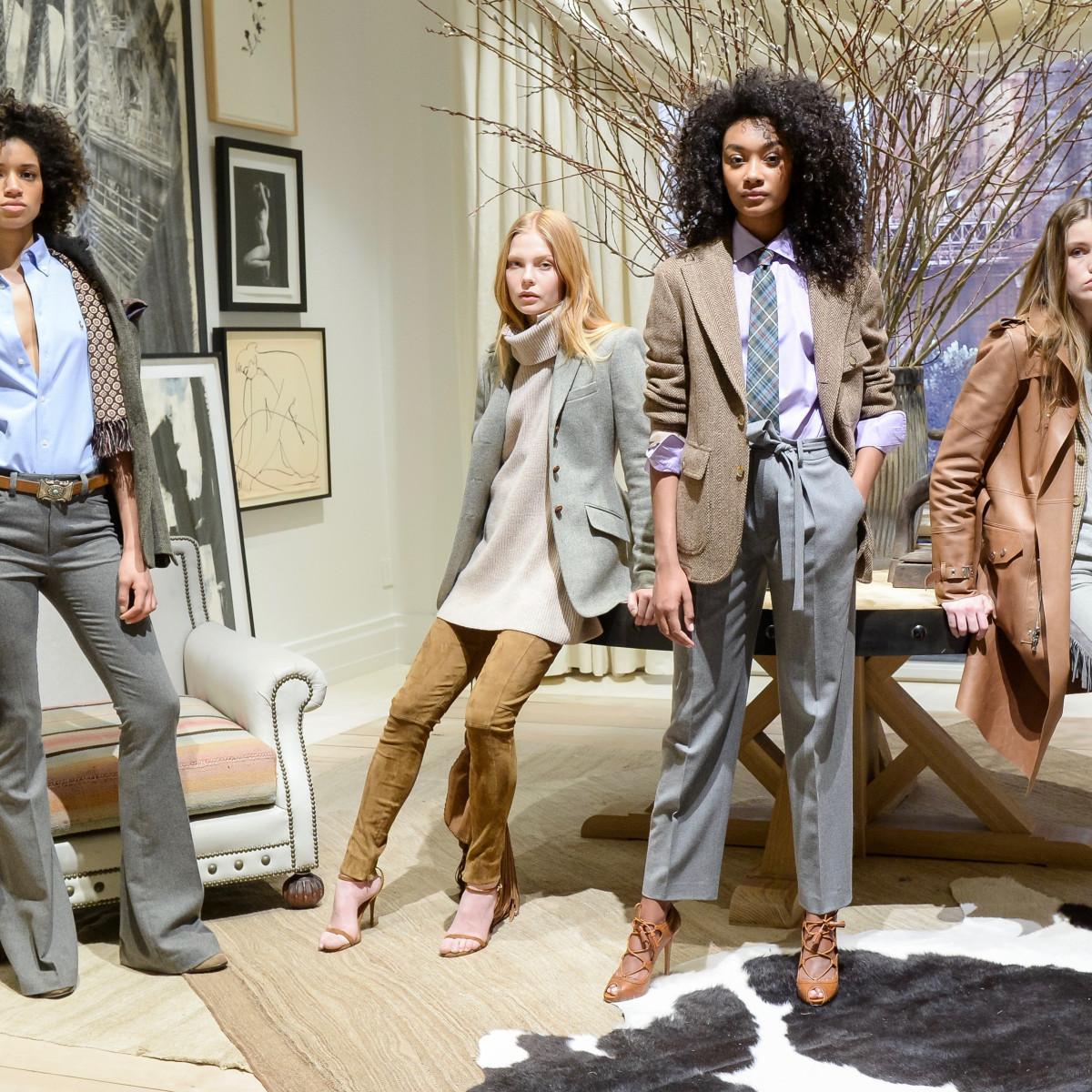 Polo Ralph Lauren fall 2016 womens