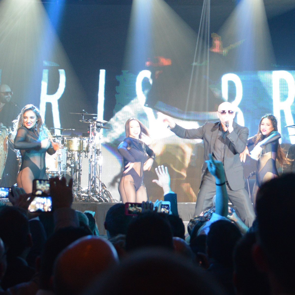Pitbull at Golden Nugget in Las Vegas, Feb. 2016