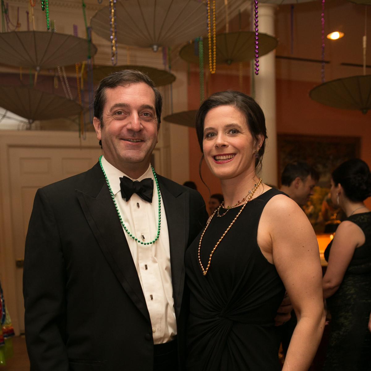 Junior League Gala, Feb. 2016, Michael Kezirian, Susanna Kise