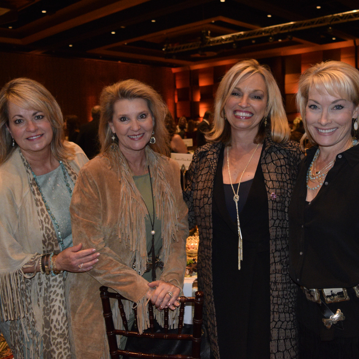 Trailblazer Awards, Feb. 2016, Crystal Northcutt, Lynn Kiesewetter, Debby Young, Arlene Hinsley